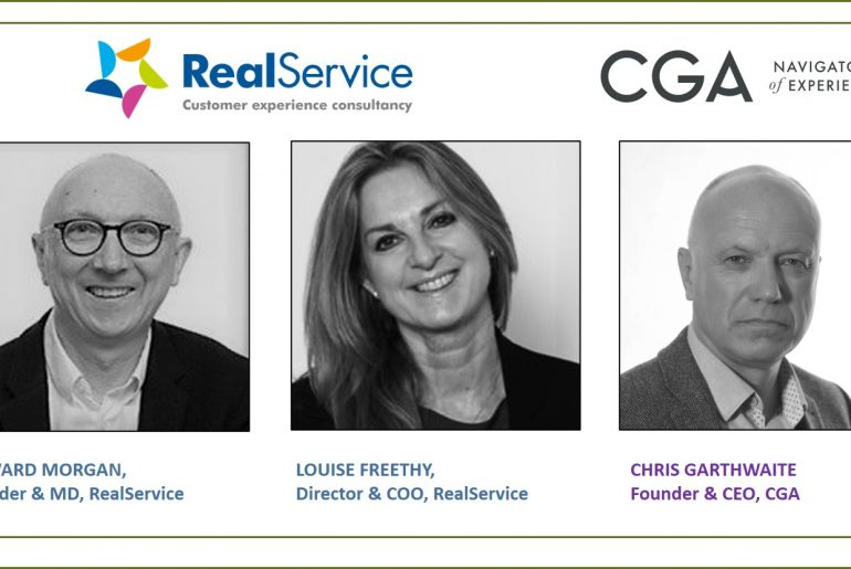 RealService directors, CGA